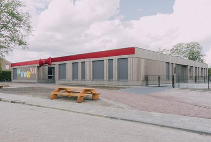 Kindcentrum Qworzo Woldendorp nieuwbouw