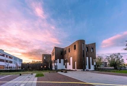 Uitbreiding NHL Stenden Hogeschool Leeuwarden verbouw