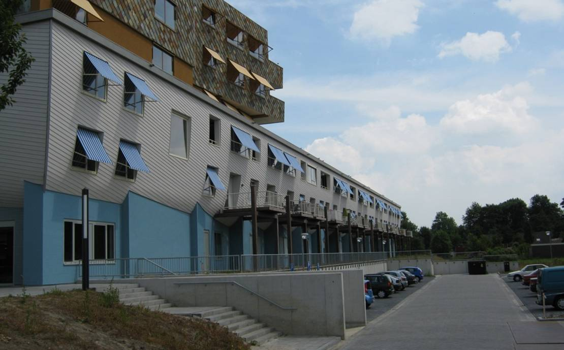 """Seniorencomplex """"De Woonark"""" Dronten nieuwbouw"""