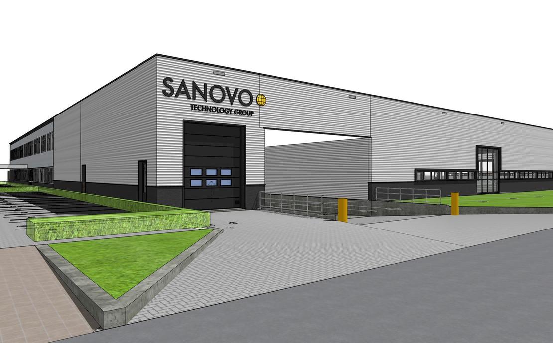 Bedrijfshal Sanovo Aalten Uitbreiding