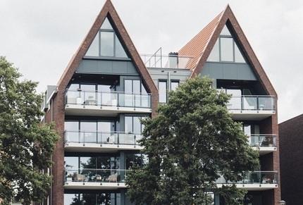 Appartementen Pampuskade Sneek nieuwbouw