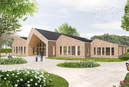 Kindcentrum Wrâldwizer Oosternijkerk nieuwbouw