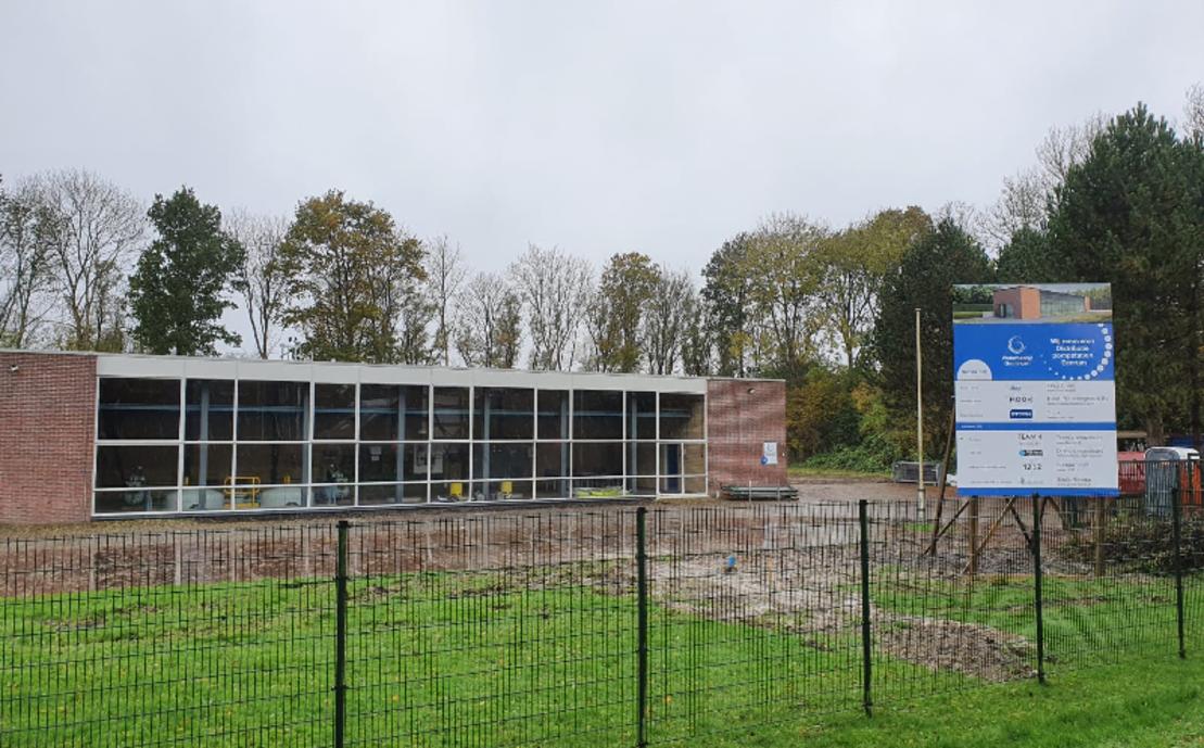 Drinkwater pompstation in Eenrum renovatie