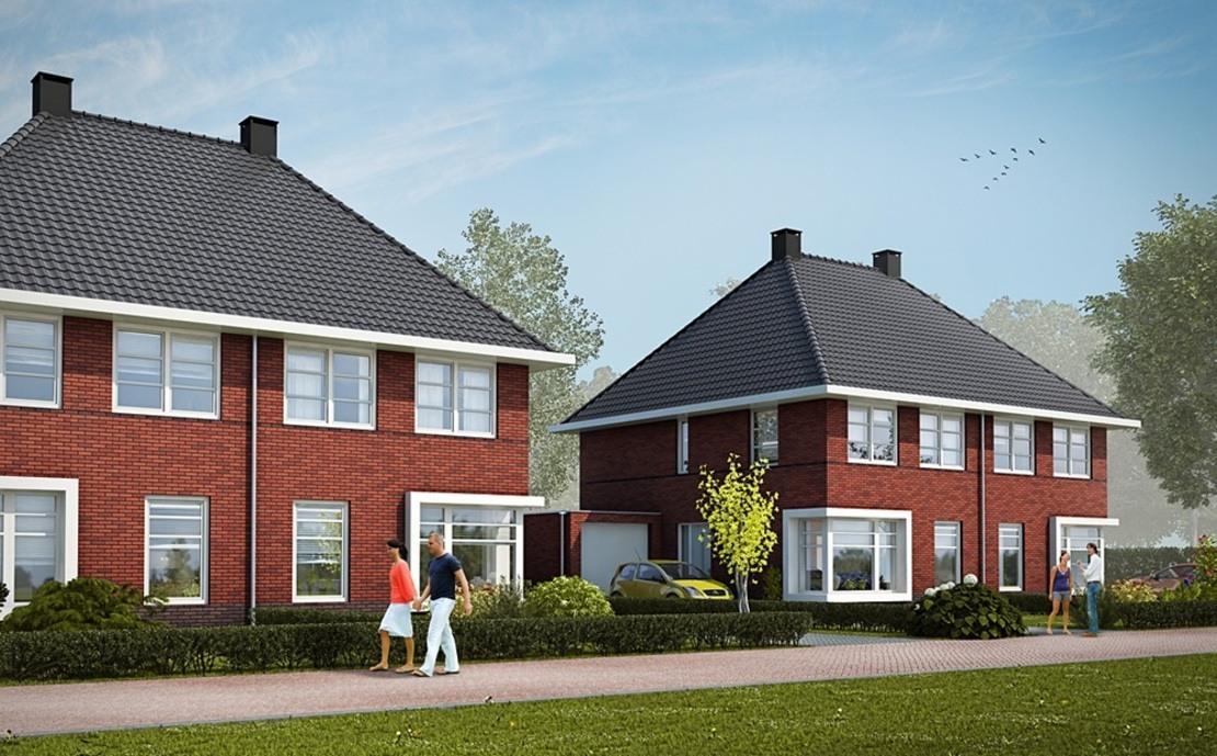 6 woningen Loevestein Gorredijk nieuwbouw