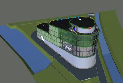 Warmtebuffer en hulpwarmtecentrale Vattenfall Amsterdam