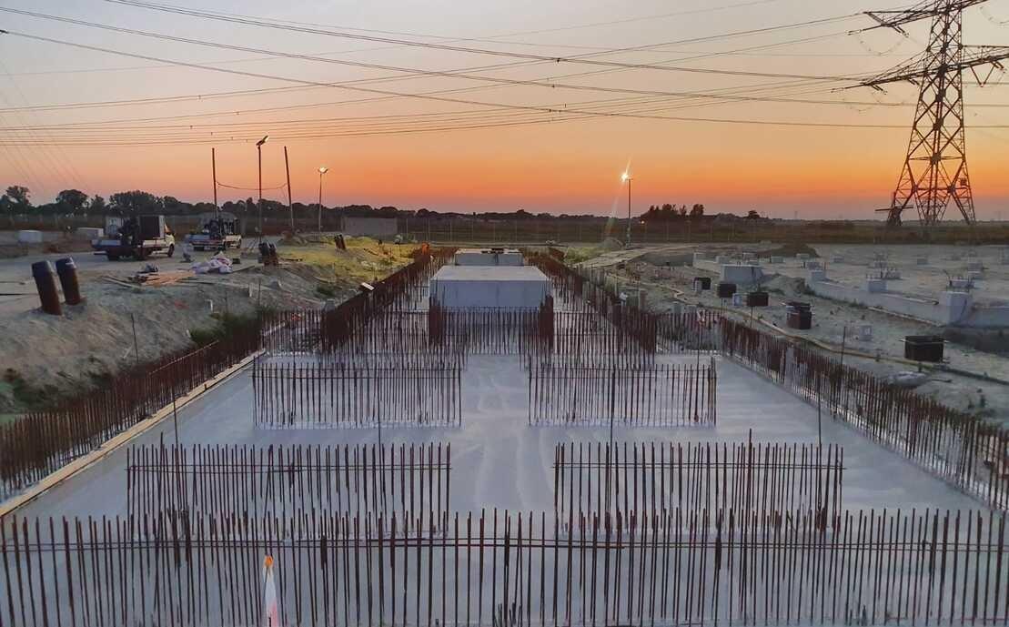 380 kV filterstation Vierverlaten Eemshaven