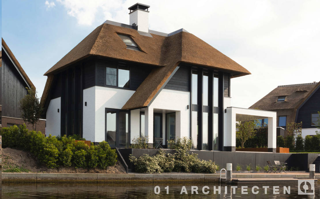 Luxe vrijstaande  woning Blaricum Nieuwbouw