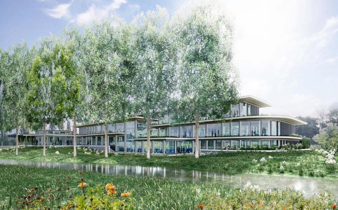 Energieneutraal kantoorpand New Nexus Haren nieuwbouw