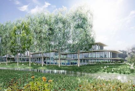 Energieneutraal kantoorpand New Nexus Haren niewbouw