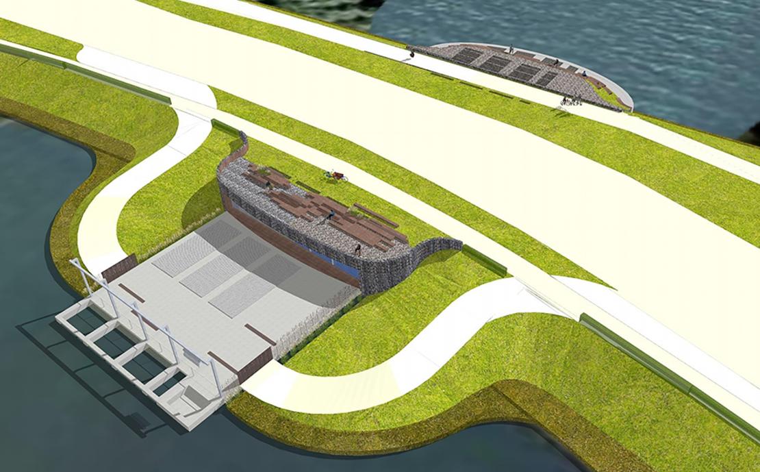 Gemaal Monnickendam beton- en waterbouw