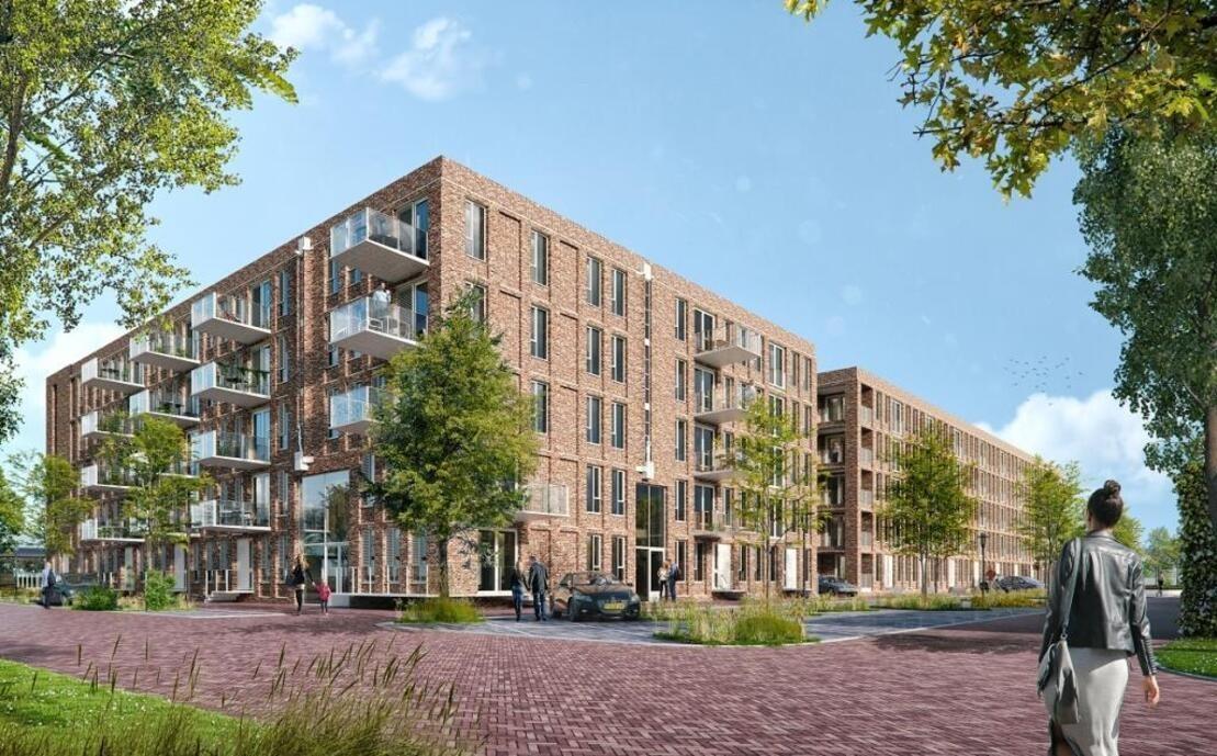 171 appartementen + 22 woningen Westerwal Groningen woningbouw