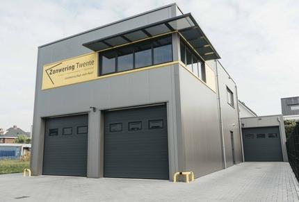 Bedrijfshal Zonwering Twente Nieuwbouw
