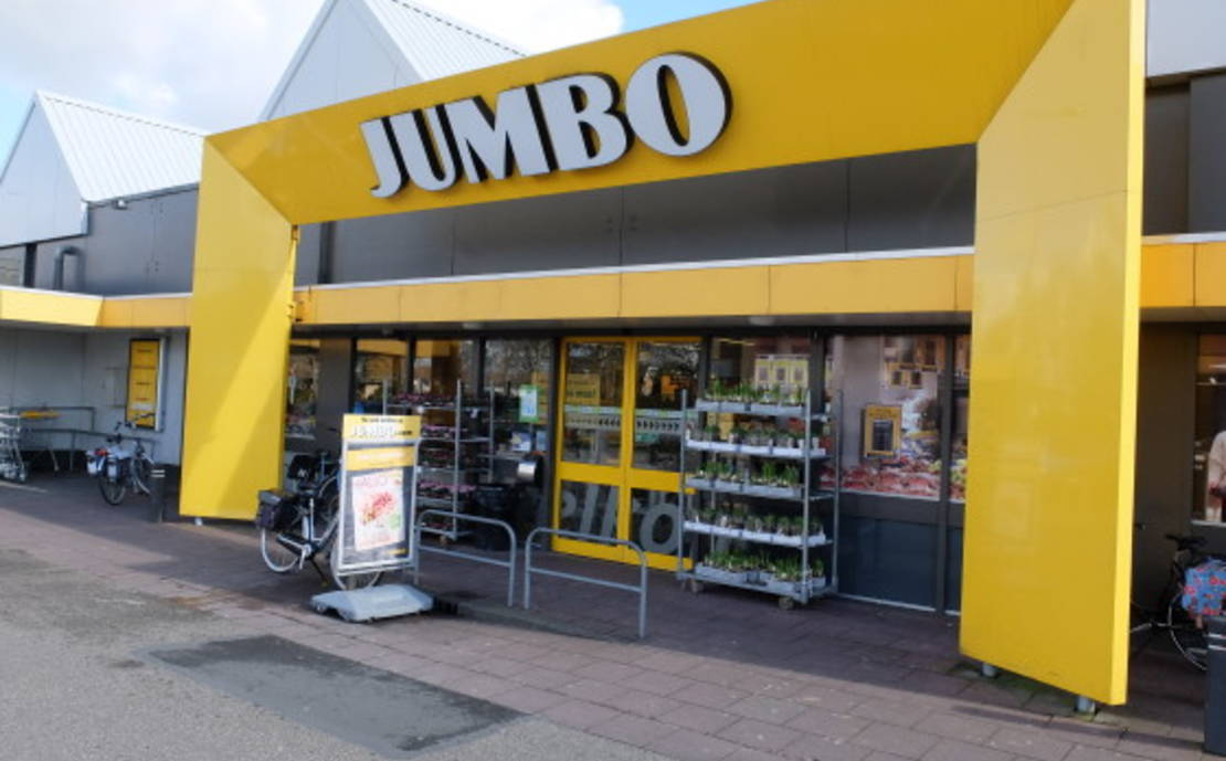 Jumbo Joure herinrichting
