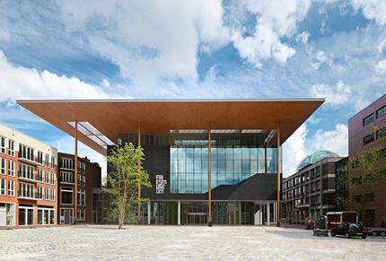 Fries Museum Leeuwarden nieuwbouw