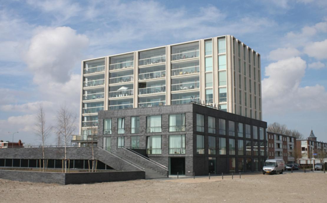 44 appartementen Waterman Sneek nieuwbouw