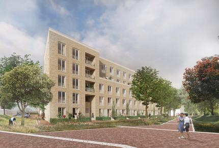 40 appartementen Olympiakwartier Almere nieuwbouw