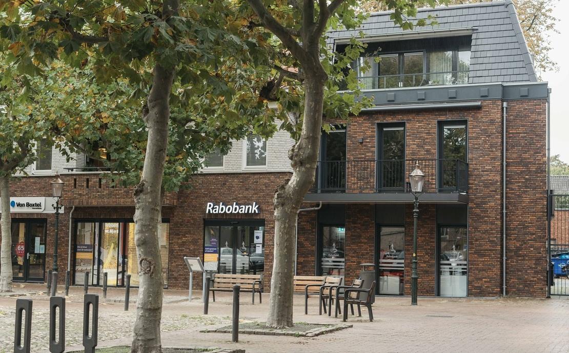 Van Rabobank tot 16 appartementen Lochem transformatie