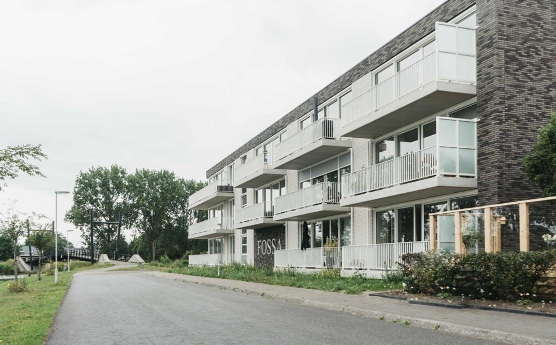 19 appartementen Magna Fossa Sneek